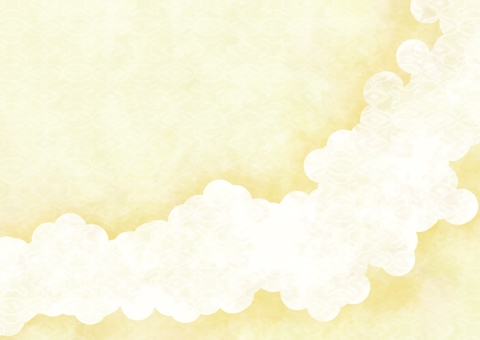 Japanese style background material