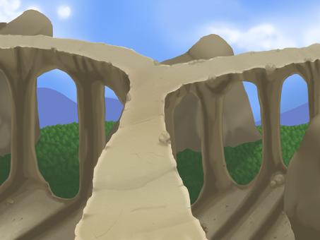 Fantasy Background 09: Air Cloister