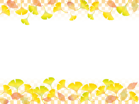 Japanese paper _ autumn leaves pattern 1 _ CS 6