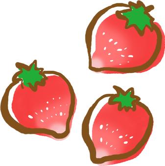 【Fruit store】 cute strawberry