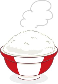 A rice bowl
