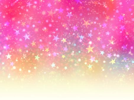 화려한 밤하늘 배경 그라데이션 핑크