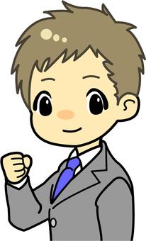 Business men (suit) 2