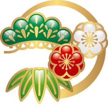 New Year decoration _ Shochiku Mei