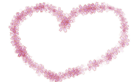 Petal Heart Frame