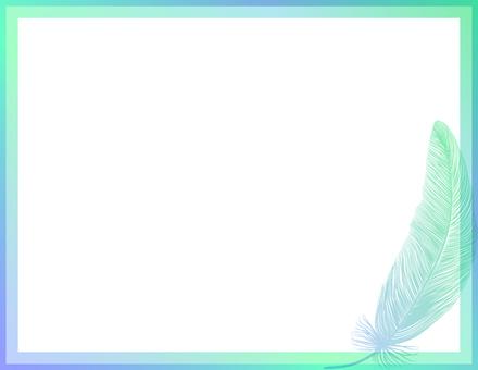 날개 _ 배경 _ 녹색