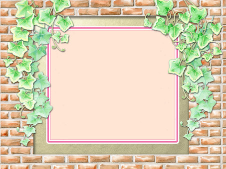 Brick and Ivy (pink) ★ 0051-A
