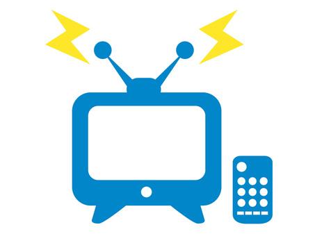 電視和遙控器