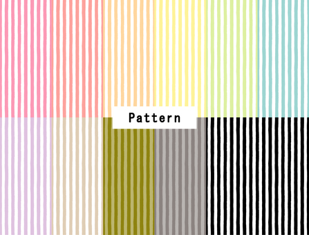 Stripe (hand-painted style) 11 colors