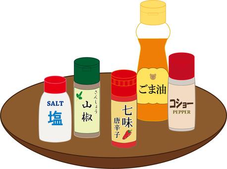 Seasoning set