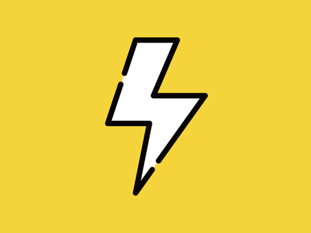Big icon inazuma lightning