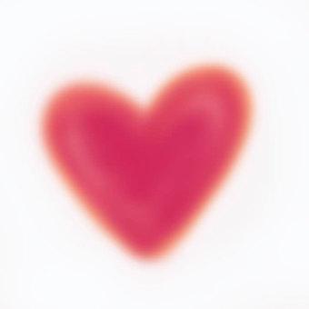 Heart fluffy