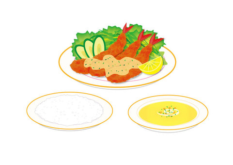 Shrimp (without lunch mat)