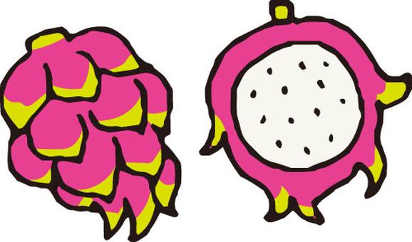 Fruit (dragon fruit)