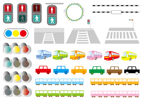 Road · Traffic Set