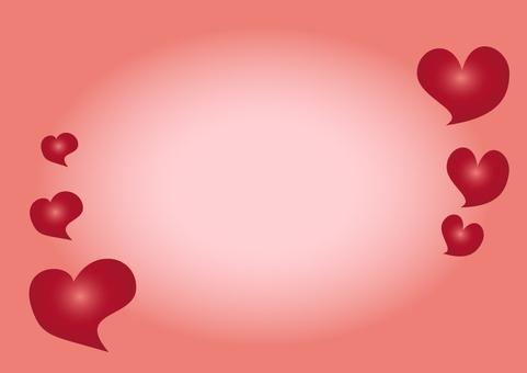 Heart frame 2 A4