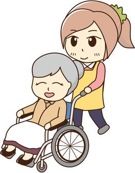 Wednesday and Welfare (Wheelchair)