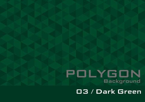 Polygon _ 03 _ Dark Green _ol