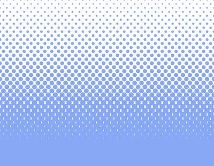 Dot Gradation _ Long Blue