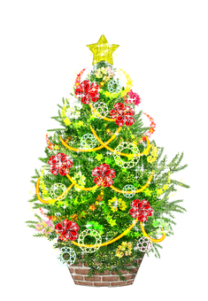 Christmas tree (with light)