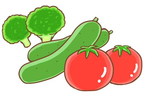 Salad vegetables 3