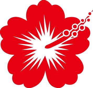 Hibiscus (red)