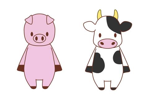 Animal mascot farm