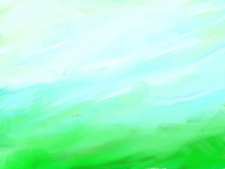 Watercolor style wind