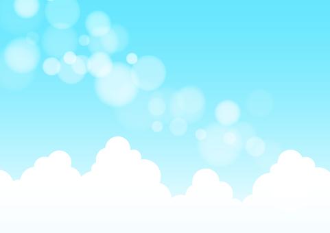 Blue sky 10