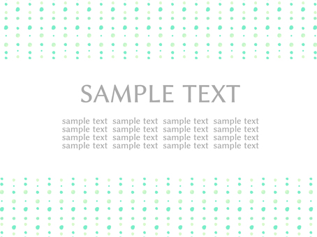 Hand-painted style polka dot background