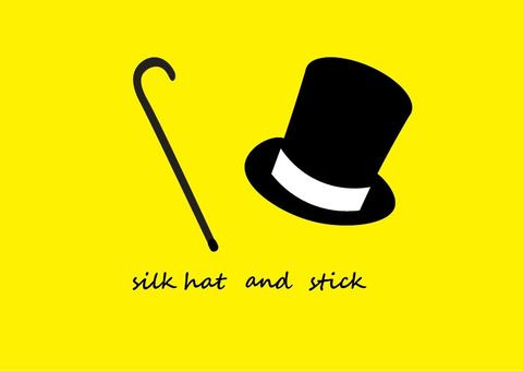 Top hat and stick