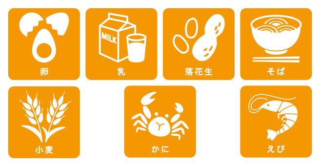 Food allergy / list
