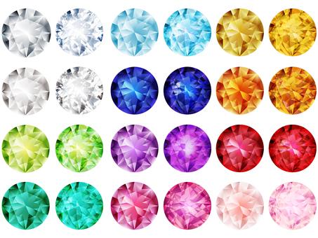 Glitter Jewelry (12 color set)