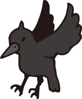烏鴉(飛)