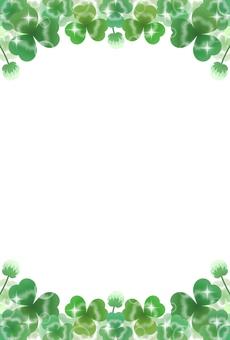 Clover frame (1-1)