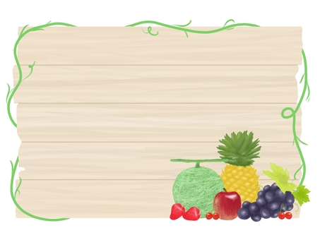 Fruit frame grain