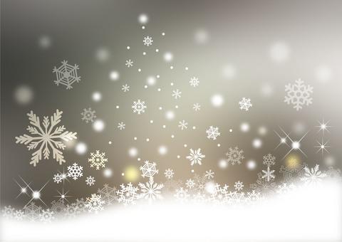 Snow scenery _ silver