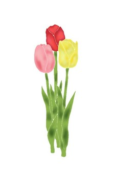 Tulip (Watercolor style)