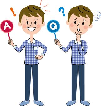 Q&A private service male body