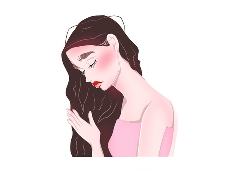 Hair woman