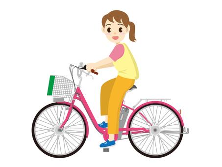 騎自行車2