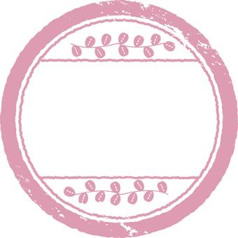 Stamp material Pink