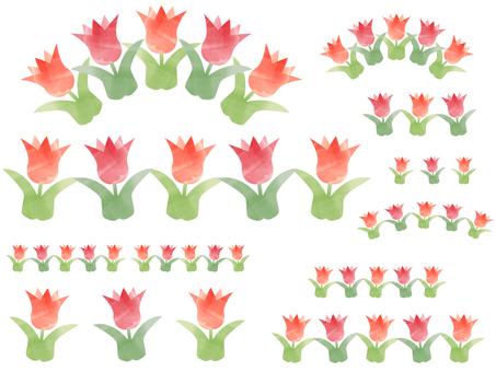 Cute tulip parts