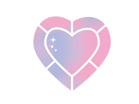 Big jewel heart