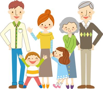 Three Generation Family 01