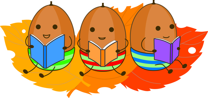 Autumn Reading ~ 3 Acorns