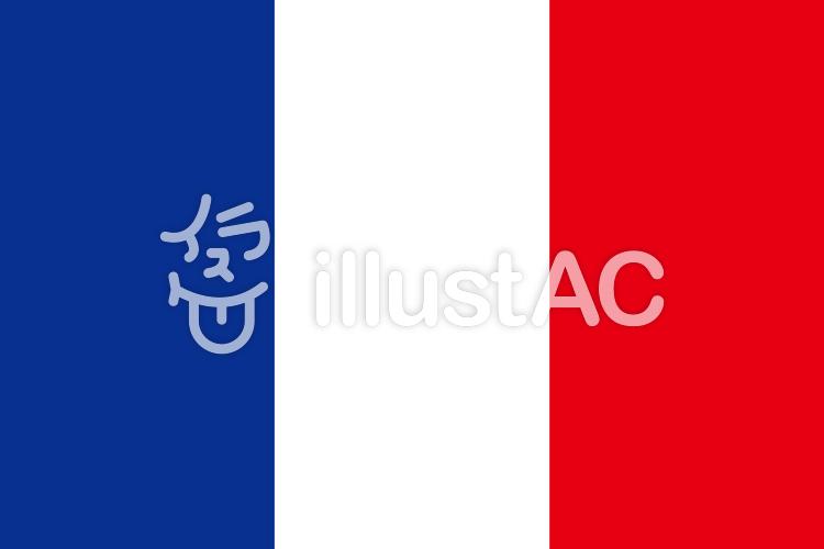 フランス国旗イラスト No 546670無料イラストならイラストac