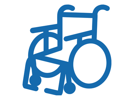 Wheelchair (pictogram style)