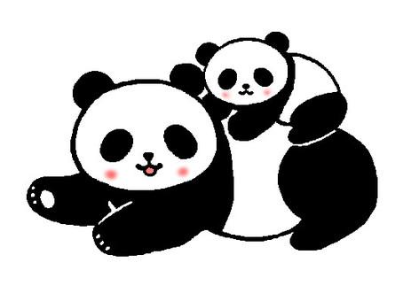 Parent-child Panda
