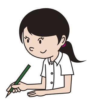 Written girls 1